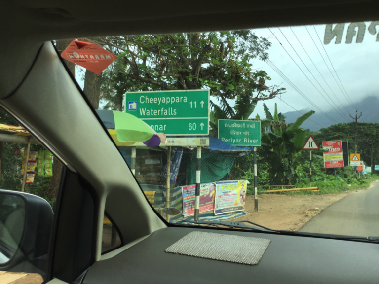 The drive from Neriyamangalam to Adimaly