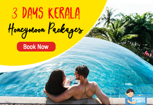 3 Days 2 Nights Kerala Honeymoon Packages