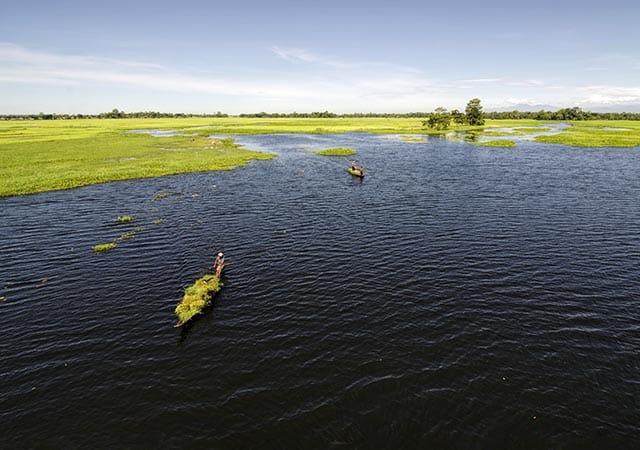 Doriya River of Majuli